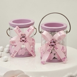 FashionCraft Baby Girl Pink Decorated Paint Can
