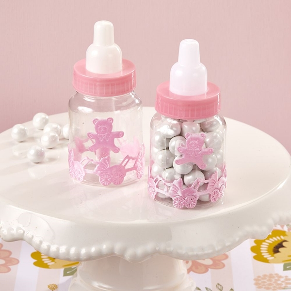 FashionCraft Baby Girl Pink Decorated Baby Bottle