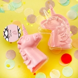 Personalized Expressions Fillable Pink Unicorn Favor Box (Baby Shower)
