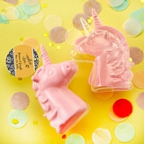 Personalized Expressions Collection Fillable Pink Unicorn Favor Box