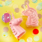 Personalized Expressions Fillable Pink Unicorn Favor Box (Birthday)