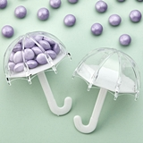 FashionCraft Perfectly Plain Collection Umbrella-Shape Favor Container