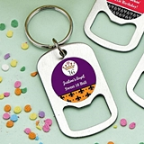 Personalized Stainless-Steel Keychain Bottle Opener (Birthday Designs)