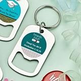 Personalized Stainless-Steel Keychain Bottle Opener (Graduation)
