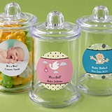 Personalized Expressions Acrylic Apothecary Jar (Baby Shower)