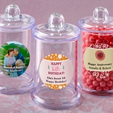 Personalized Expressions Collection Acrylic Apothecary Jar (Birthday)
