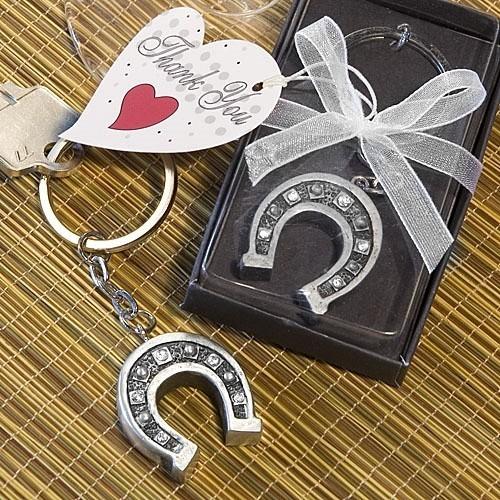 FashionCraft Horseshoe Key Chain Favor