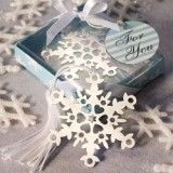 FashionCraft Snowflake Bookmark Favor