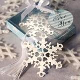 FashionCraft Snowflake Bookmark Favor