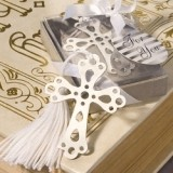 FashionCraft Book Lovers Collection Cross Bookmark Favor