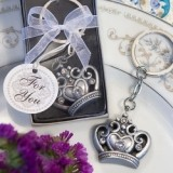 FashionCraft Royal Favor Collection Crown Design Key Ring Favor