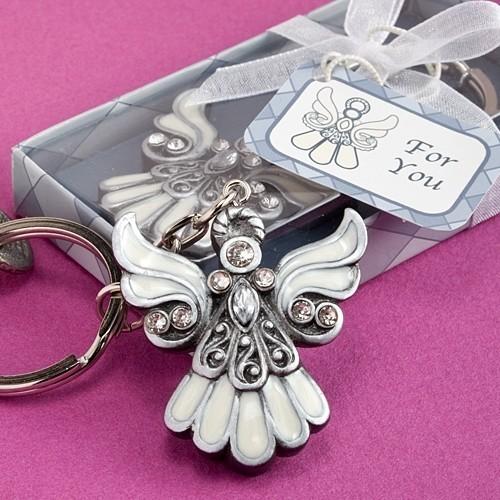 FashionCraft Angel Design Keychain Favor