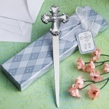 FashionCraft Exquisite Cross Letter Opener