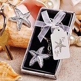 FashionCraft Brilliant Starfish Design Keychain Favor