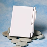 FashionCraft 'Perfectly Plain' White Hard-Molded Plastic Notebook