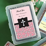FashionCraft Playing Card Decks with Custom Baby/Religious Stickers