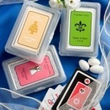 FashionCraft Personalized Expressions Collection Playing Card Favors