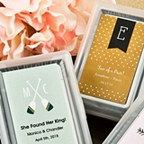 FashionCraft Playing Card Decks with Monogram Design Stickers