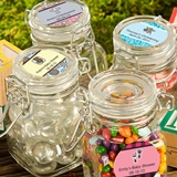 Personalized Expressions Collection Apothecary Glass Jar (Baby Shower)