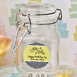 Personalized Expressions Collection Apothecary Glass Jar (Birthday)
