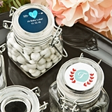 Personalized Expressions Collection Apothecary Glass Jar (Monogram)
