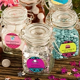 Personalized Expressions Collection Apothecary Glass Jar (Sweet16)