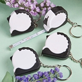 FashionCraft Perfectly Plain Collection Key Chain/Tape Measure