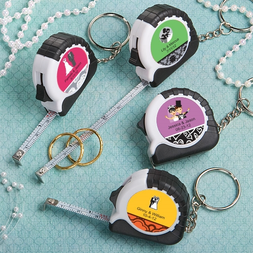 FashionCraft Expressions Collection Personalized Keychain/Tape Measure