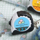 Expressions Collection Customized Keychain/Tape Measure (Baby Shower)