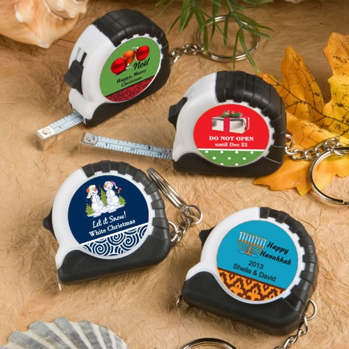 Expressions Collection Personalized Keychain/Tape Measure (Holiday)