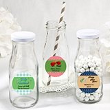 Personalized Expressions Collection Vintage-Look Milk Bottle (Holiday)