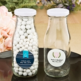 Personalized Expressions Collection Vintage Milk Bottle (Monogram)