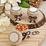 FashionCraft Perfectly Plain Collection Burlap Boxes