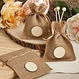 FashionCraft Perfectly Plain Collection Burlap Treat Bags