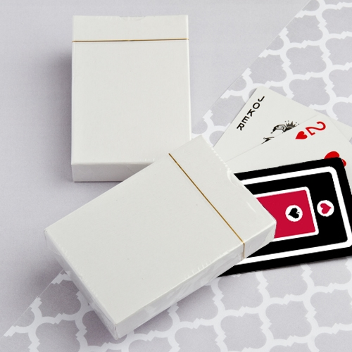 FashionCraft Perfectly Plain Collection Deck of Playing Cards