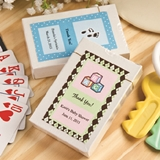 FashionCraft Playing Cards Deck in Box with Custom Baby Shower Sticker