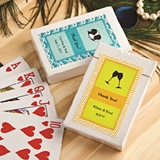 Personalized Expressions Collection Playing Cards Deck in Box