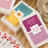 FashionCraft Playing Cards Deck in Box w/ Custom Celebrations Sticker
