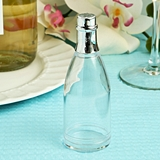 FashionCraft Perfectly Plain Collection Clear Plastic Champagne Bottle