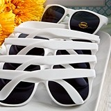 FashionCraft Perfectly Plain Collection Trendy White UV400 Sunglasses