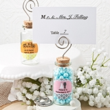 Personalized Expressions Corked Glass Jar with Placecard Holder
