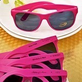 Personalized Hot Pink UV400 Sunglasses