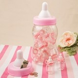 Perfectly Plain Collection Giant Pink Baby Bottle Container/Bank