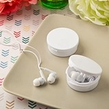 FashionCraft Perfectly Plain Collection Ear Bud Headphones in Case