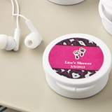 FashionCraft Personalized Expressions Ear Bud Headphones (Baby Shower)