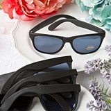 FashionCraft Perfectly Plain Collection Cool Black UV400 Sunglasses