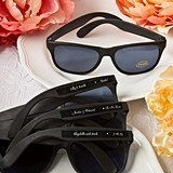 Personalized Expressions Collection Cool Black UV400 Sunglasses