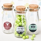 Personalized Expressions Vintage Milk Bottle with Cork Top (Birthday)
