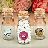 Personalized Expressions Vintage Milk Bottle with Cork Top (Vintage)