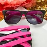 FashionCraft Perfectly Plain Collection Plastic Wayfarerish Sunglasses